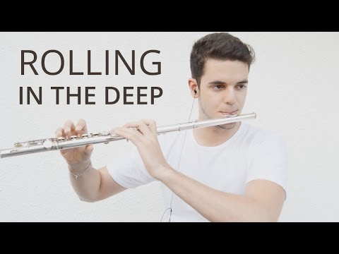 Rolling in the deep  Adele  Flute   MartimOnFire sheet available