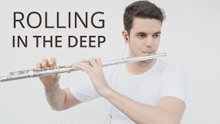 Rolling in the deep - Adele - Flute Cover - MartimOnFire (sheet available)
