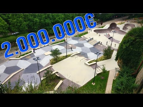 The Most Beautiful Skatepark in Europe!
