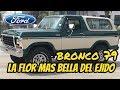 Ford Bronco 79 4x4 restaurada increible