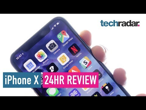 Download Youtube: iPhone X 24hr review