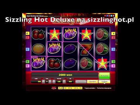 Symulator Sizzling Hot Deluxe Online Gra | Gra Online Sizzling Hot Deluxe Wygrana