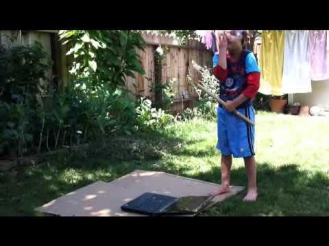 How Kid Can Fix Computer in Backyard