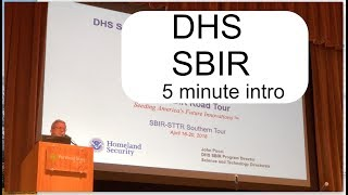 Homeland Security - DHS SBIR Startup Grants