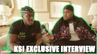 EXCLUSIVE: KSI TALKS SHANNON BRIGGS VIDDAL RILEY CLASH | KSI VS LOGAN PAUL 2