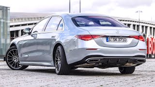 Mercedes S-CLASS 2021 - REAR AXLE Steering (10 Degrees), Manoeuvrable As A Compact Car!