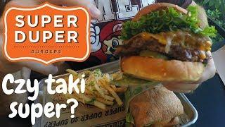 Jedzenie w USA: Testujemy Super Duper Burgers