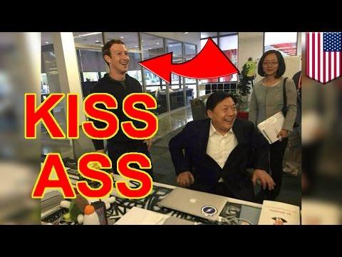 Mark Zuckerberg, sumisipsip sa China, kung saan banned ang Facebook!