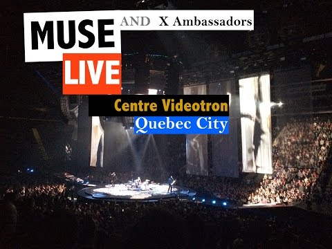 MUSE Live Quebec City - 18 january 2016