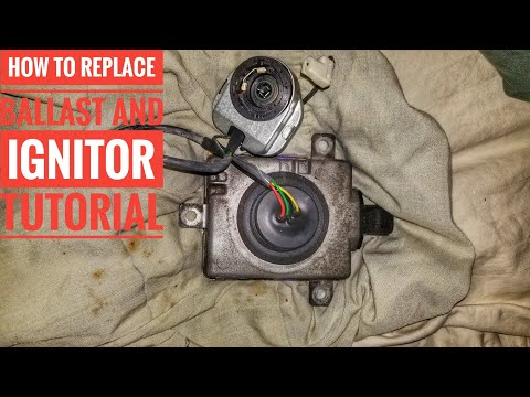 2004-2008 ACURA TL IGNITOR AND BALLAST REPLACEMENT TUTORIAL QUICK AND EASY