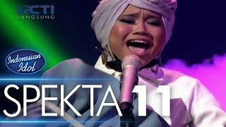 Video AYU - RAPUH (Agnez Mo) - Spekta Show Top 5 - Indonesian Idol 2018 download MP3, 3GP, MP4, WEBM, AVI, FLV Oktober 2018
