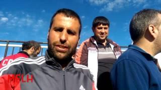 تنقل تاريخي لأنصار جمعية عين مليلة إلى مروانة  يوم 14/10/2016