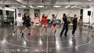 ♪ソコソコ(稽古動画)/上野パンダ島ビキニーズ