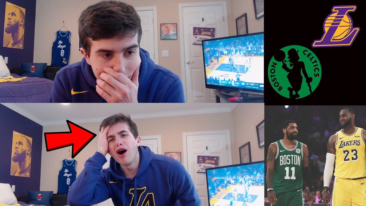 79edd36d939 depressed lakers fan reacts to celtics lakers...  actual tears come out   its over.