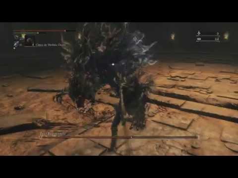 Bloodborne - Fera Repugnante na masmorra