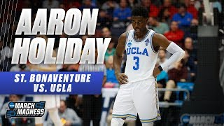 UCLA's Aaron Holiday puts on a show against St. Bonaventure