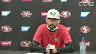 Shanahan discusses 49ers QB situation going into Miami game