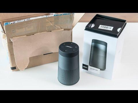 Bose Soundlink Revolve - unboxing & first impressions