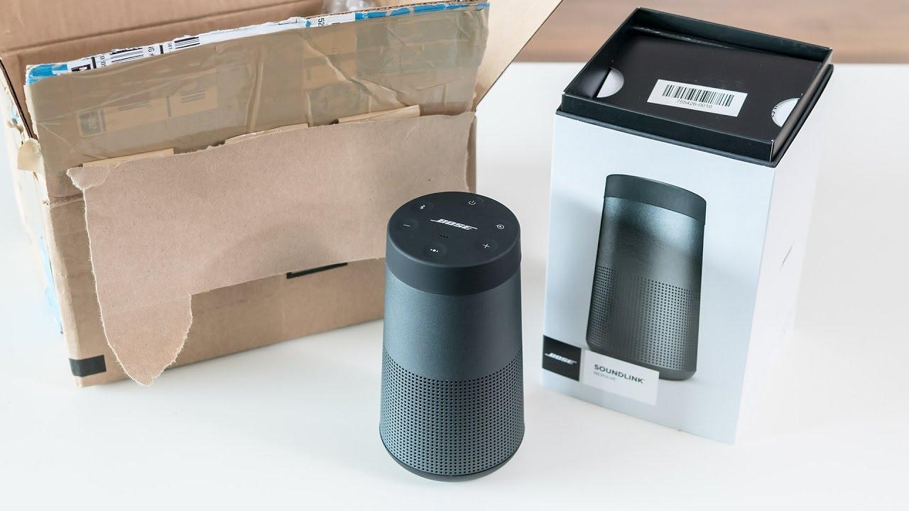 Bose Soundlink Revolve Unboxing Amp First Impressions Doovi