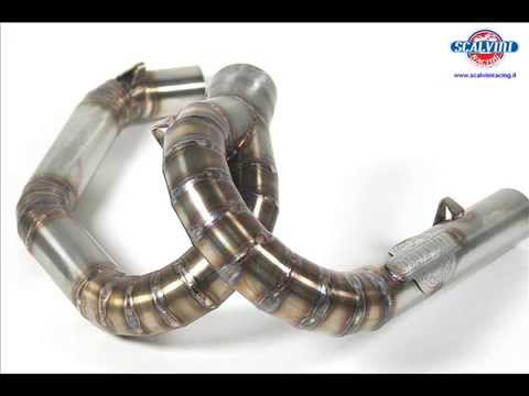 Two-Stroke Factory Works Pipes for KTM, Husqvarna, Husaberg by Scalvini