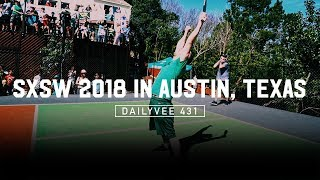 Playing Pickle Ball with Andre Agassi and Andy Roddick at SXSW 2018 | DailyVee 431