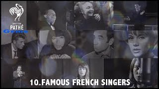Famous French Singers | British Pathé Gems Nº10