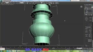 3D MAX для начинающих Урок 3. Сплайны. Часть 2.