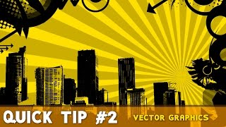 Blender Quick Tip #2 | How to work with Vector Graphics
