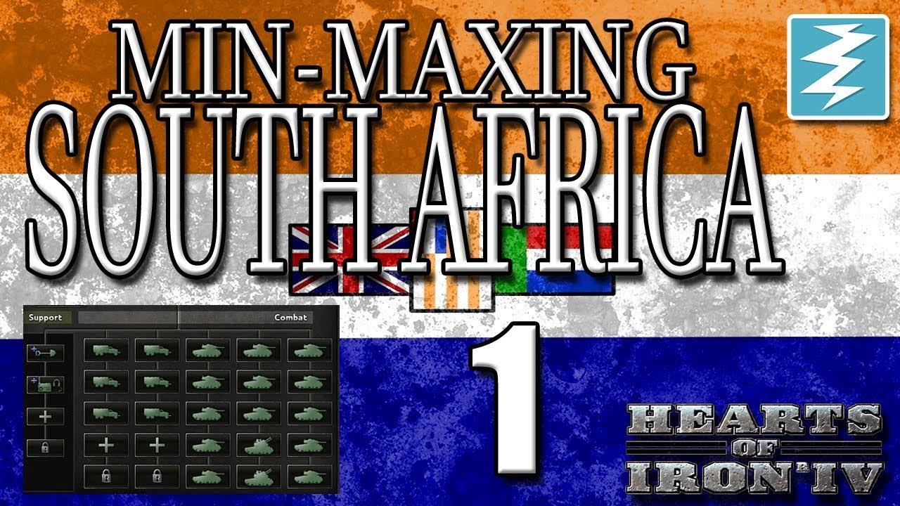 SOUTH AFRICA MIN-MAXING GUIDE [1] Hearts of Iron IV