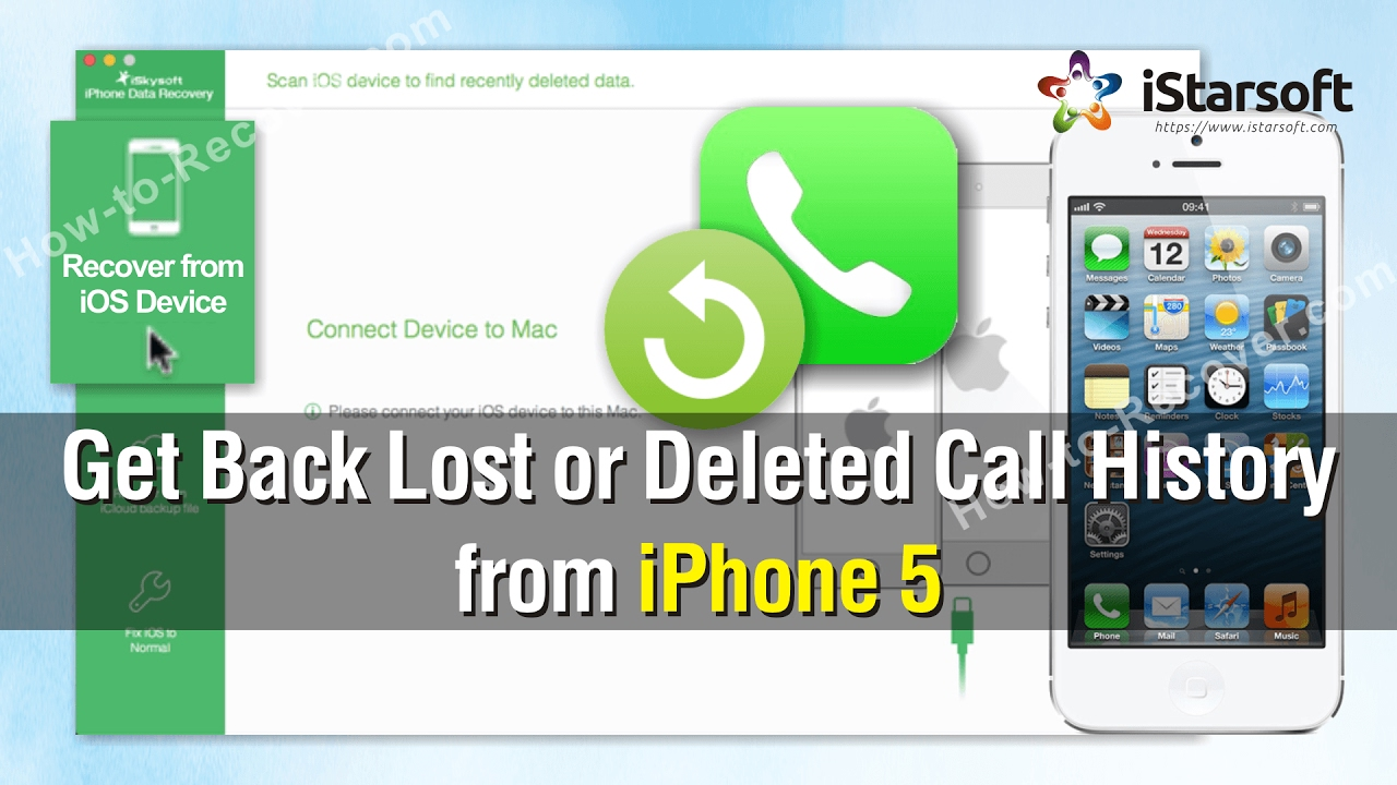 iphone call history how to get back lost or deleted call history from iphone 5 3372