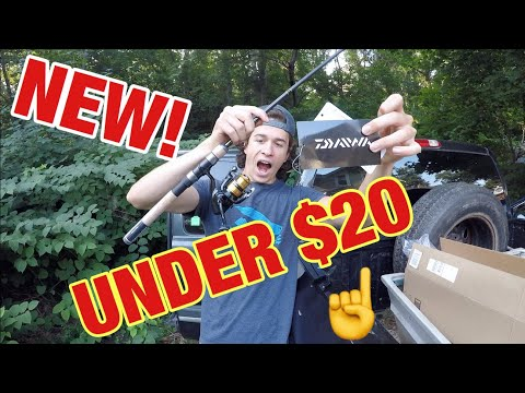 BEST CHEAP Fishing Combo! (DAIWA)