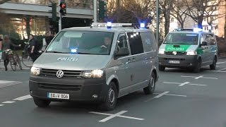 [BLOCKUPY 2015] Unterstützungskommando (USK) (18x HGrKW + SanKW + 4x zivile BeDoKW) Polizei Bayern