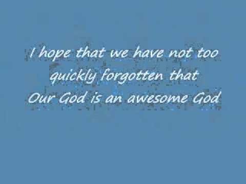 Awesome God - Rich Mullins w  Lyrics.flv