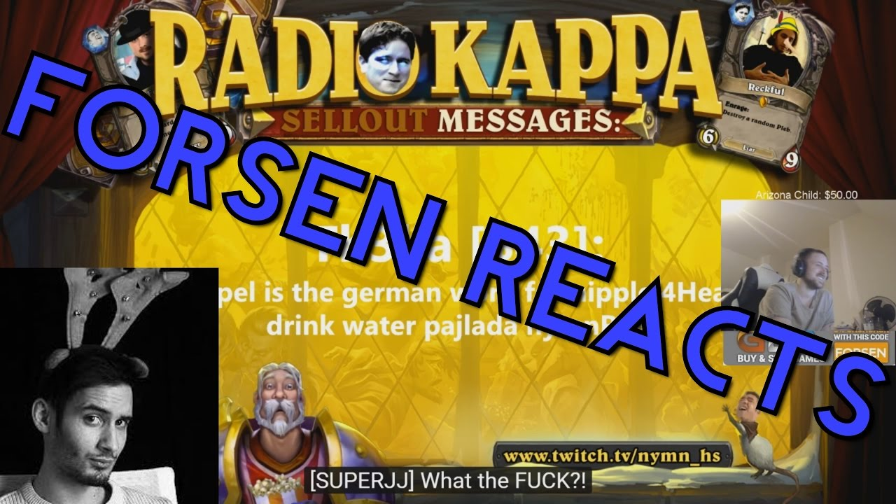 Civilisera manuell Berika  Forsen Reacts to Radio Kappa Ep. 14 The Finale (with chat) - YouTube