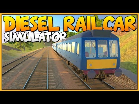 DRIVING AWESOME DIESEL TRAINS - Amazing Train Sim - Let