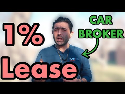 The 1% Rule - What the Car Lease Gurus all use!