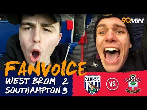 West Brom 2-3 Southampton | Southampton beat West Brom 3-2 in 5-goal thriller! | FanVoice