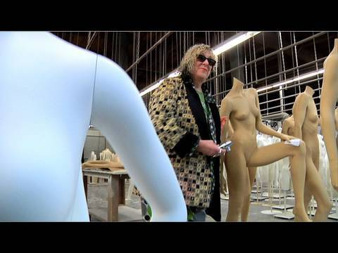 Allee Willis Goes To the World's Largest Mannequin Factory