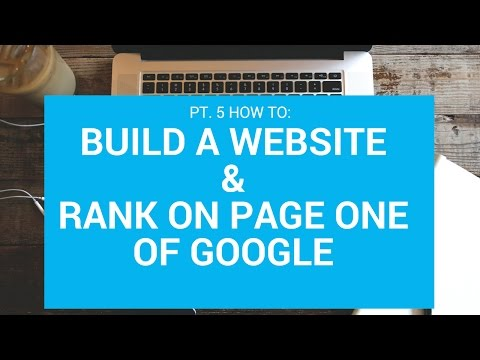 Lawn Care/Landscape Website & SEO Course | (Vid 5) Ranking Your Site Google Page 1