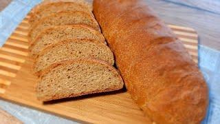 Хлеб из цельнозерновой муки в духовке Простой рецепт вкусного и полезного хлеба