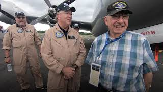 WWII veterans see B-29 bomber they flew in 70 plus years ago