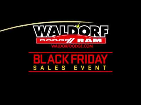 Waldorf Dodge Ram Black Friday Sales Event - YouTube