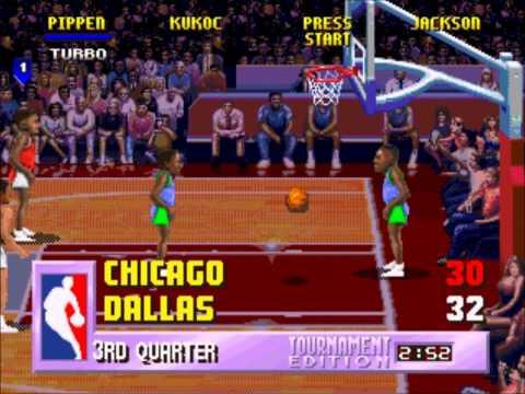 NBA Jam TE - Sega 32x Gameplay HD