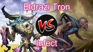 Eldrazi Tron vs Infect | MTG Modern Matchup VS series (With decklists)