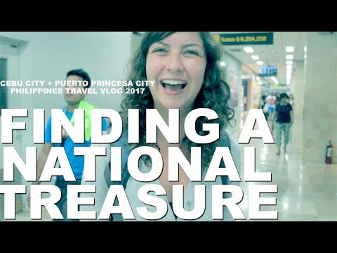 The HUNT For A National Treasure (Cebu City & Puerto Princesa, Philippines Travel Vlog 2017)
