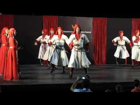 Abaza (Abkhaz) dance
