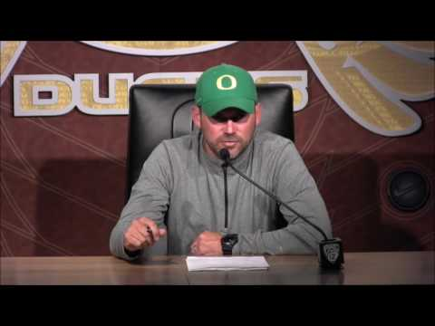 Mark Helfrich previews Nebraska