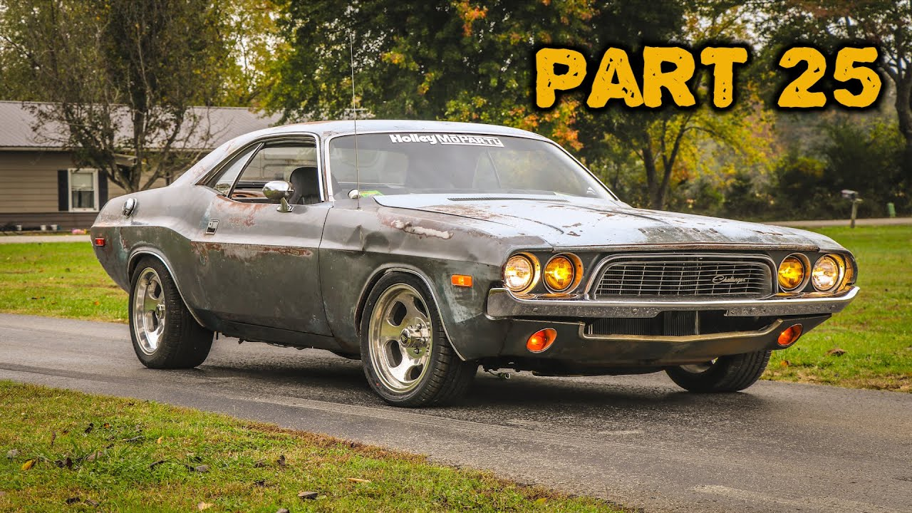 ABANDONED Dodge Challenger Rescued After 35 Years Part 25: Wiring and Gauges!