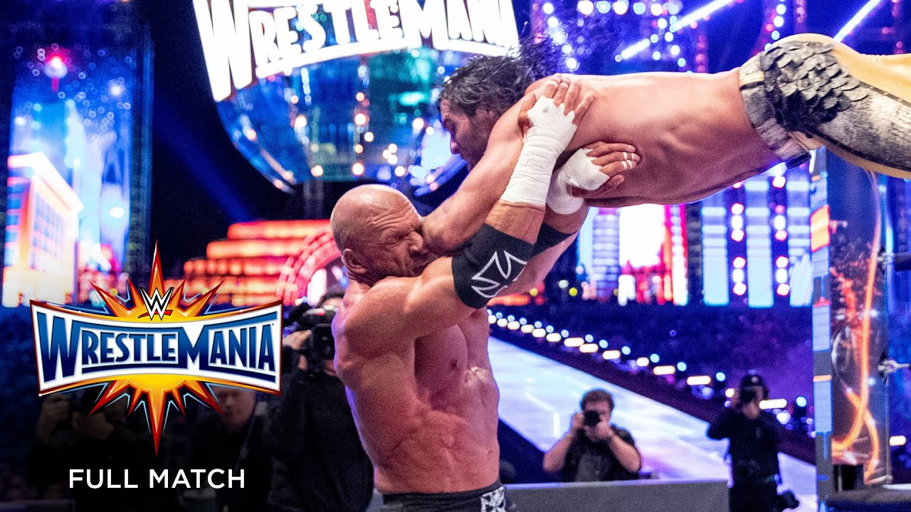 Download FULL MATCH - Seth Rollins vs. Triple H – Unsanctioned Match: WrestleMania 33