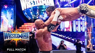 FULL MATCH - Seth Rollins vs. Triple H - Unsanctioned Match: WrestleMania 33
